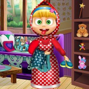 DIY Masha Doll